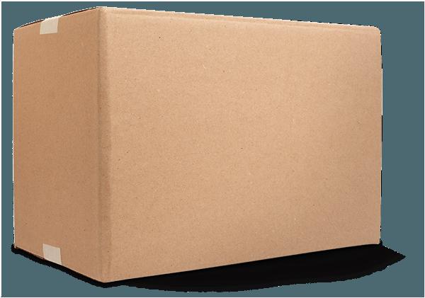 Fiber corrugated box